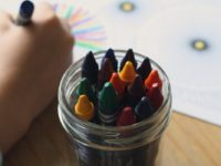 child coloring to relax